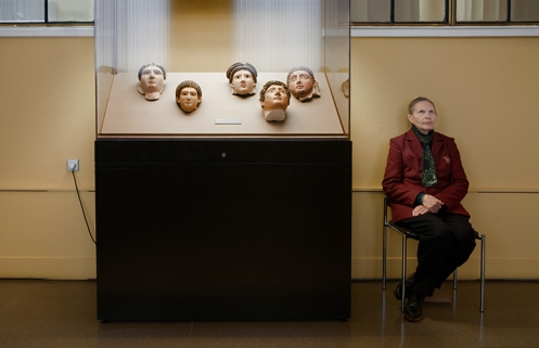 "A: Freeberg, ""2nd Century Mummy Masks, Pushkin Museum"""