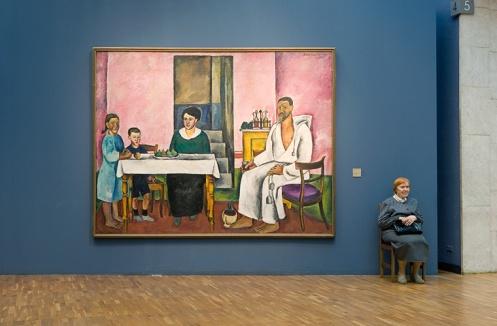 "A: Freeberg, ""Konchalovsky's Family Portrait, State Tretyakov Gallery"""