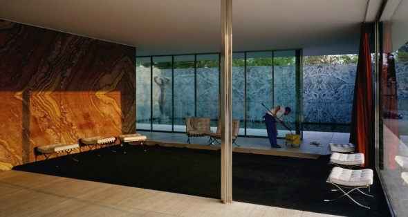 Jeff-Wall-Morning-Cleaning-Mies-van-der-Rohe-Foundation-Barcelona-1999