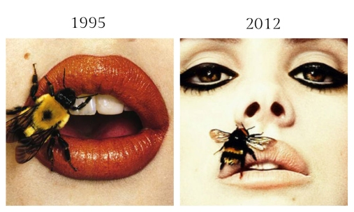 Bee (A) by Irving Penn, September 22, 1995 - Lana Del Ray for Interview Magazine by Sean and Seng, February 2012
