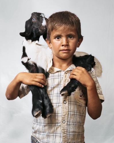 J. Mollison, Bilal, 6, Wadi Abu Hindi, The West Bank