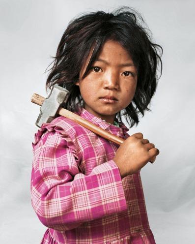 J. Mollison, Indira, 7, Kathmandu, Nepal