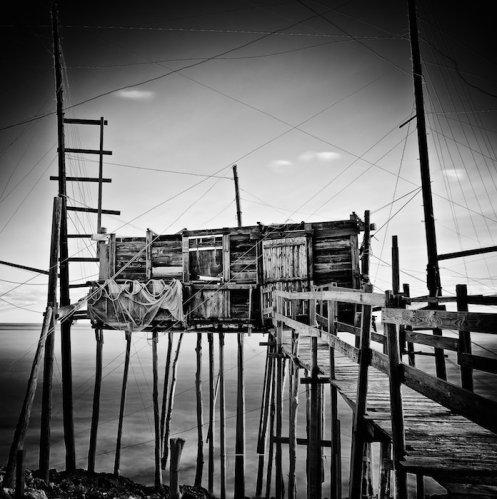 """K. Carella, """"Trabucco 5 (studio 2)"""", 2012"""