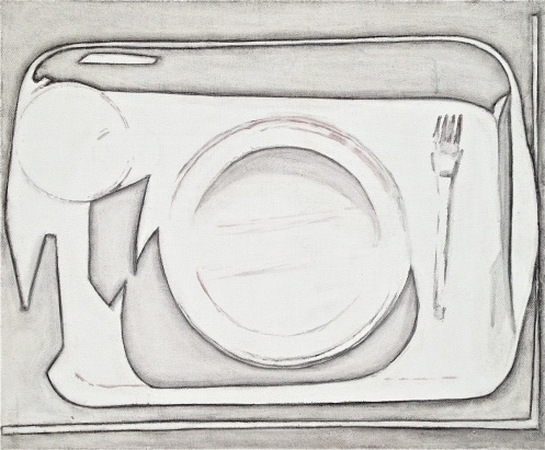 "Eglė Grėbliauskaitė, ""Portion"", from series ""Their tools were silver too"", 2013"