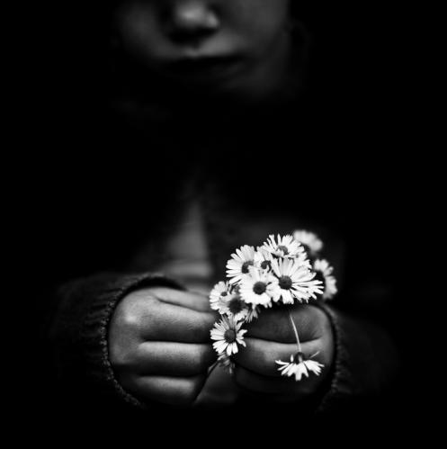 """B. Courti, """"Fleurs"""""""
