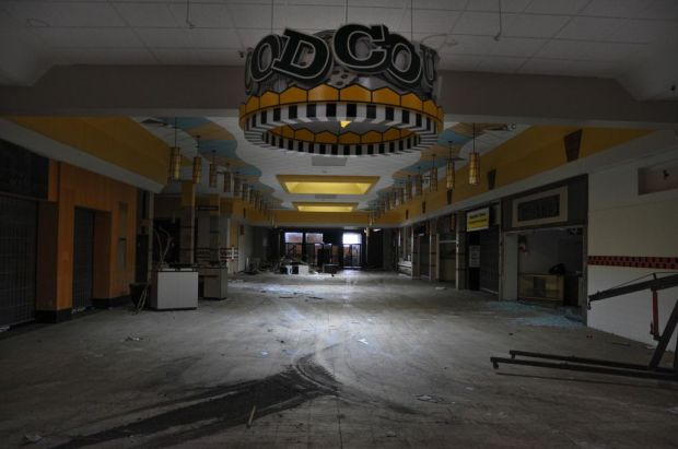 "S. Lawless, from series ""Black Friday: The Collapse of the American Mall"""