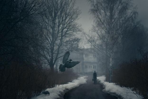 """M. Lagerstedt, """"Dark Times"""""""