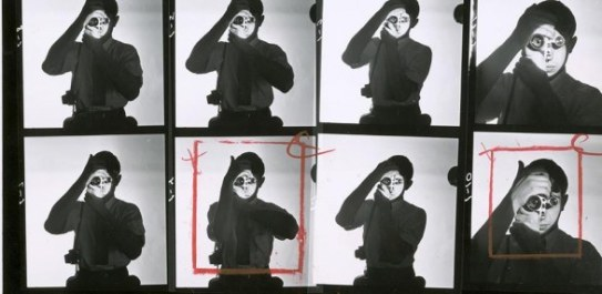 "A. Feininger, provini di ""Portrait of Dennis Stock"", 1951"