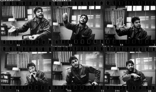 """R. Burri, provini di """"Che Guevara, ministro dell'industria, Cuba 1963"""""""