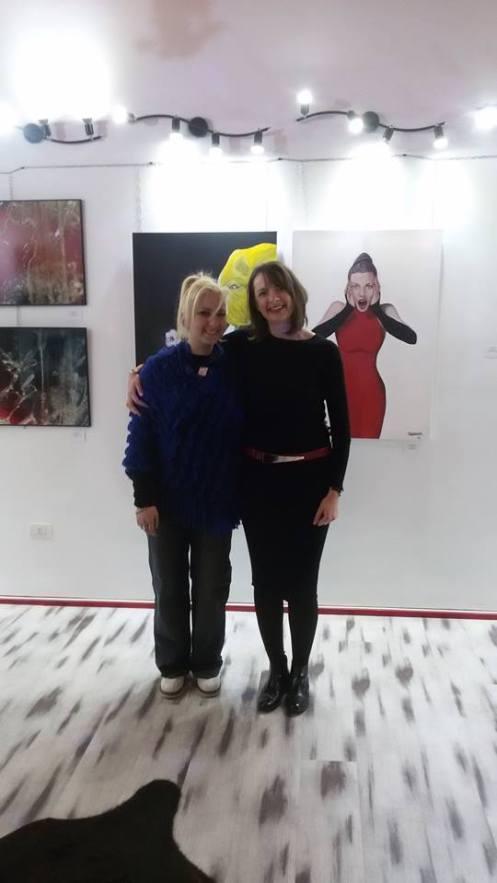 Valeria di Imperium Artis e io, foto di E. Gregolin