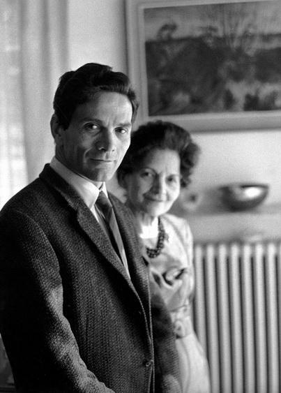 """M. Dondero, """"Pasolini e la madre, 1962"""""""