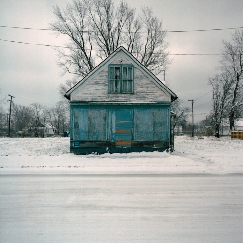 """K. Bauman, from series """"100 abandoned houses"""""""