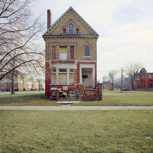 "K. Bauman, from series ""100 abandoned houses"""