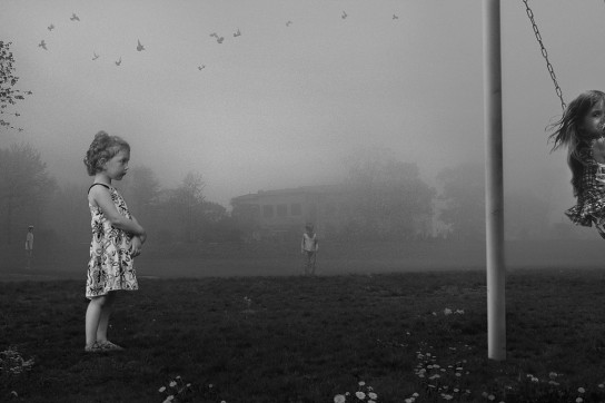 """F. Diaz, D. Young, """"The Wait"""", from """"The Playground Series"""", 2014"""